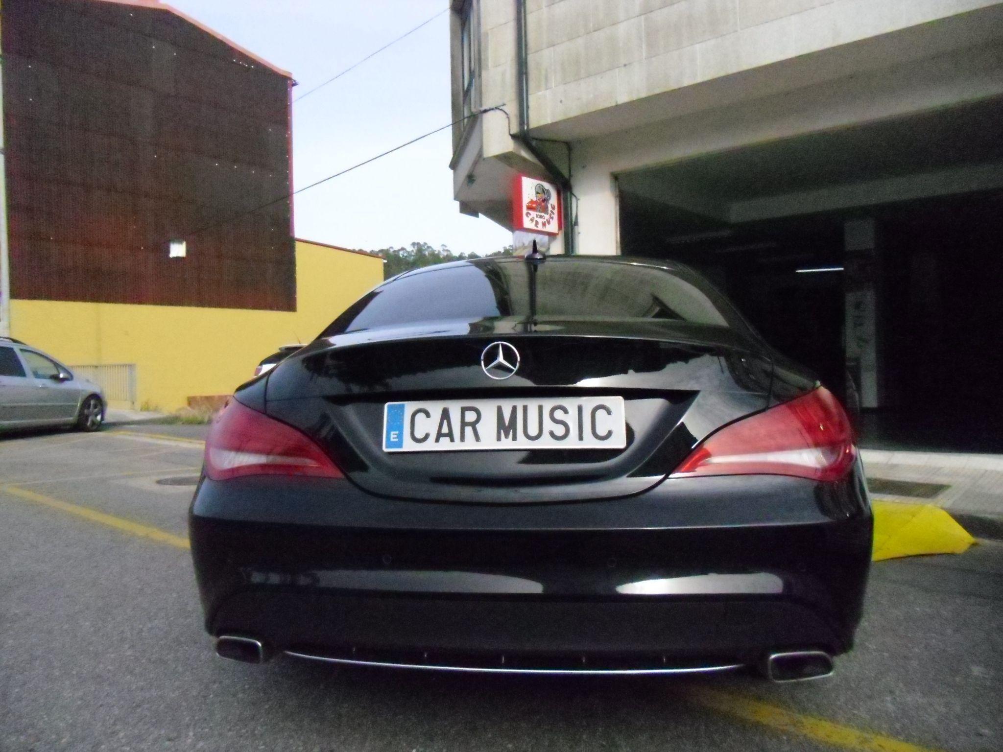 Tintado de lunas Mercedes Benz