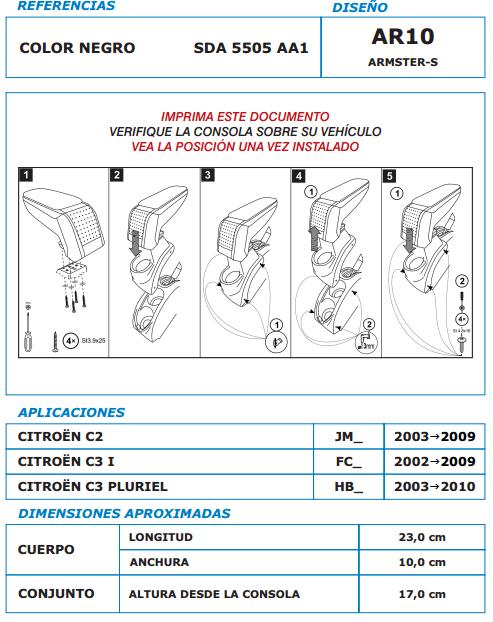 Manual-instalacion-apoyabrazos-citroen-c1-c2-I-c3-pluriel