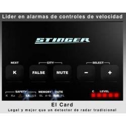Detector de Radar-Stinger Card